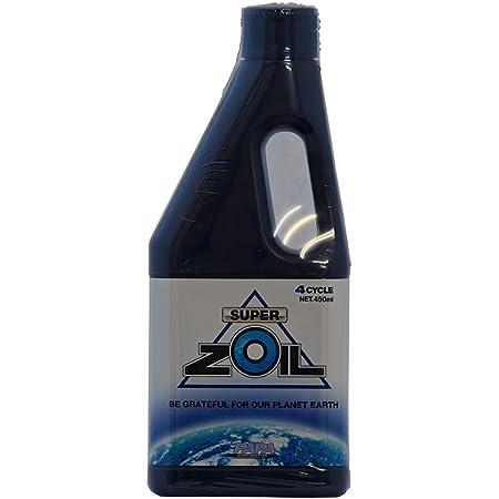 スーパーゾイル エンジンオイル添加剤 SUPER ZOIL eco for 4cycle 4サイクル用 450ml [HTRC3]