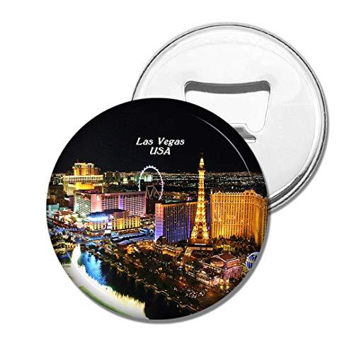Weekino USA Amerika Brunnen von Bellagio Las Vegas Bier Flaschenöffner Kühlschrank Magnet Metall Souvenir Reise Gift