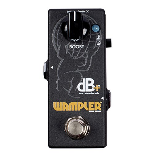 Wampler Decibel Plus V2 Boost & Independent Buffer Guitar Effects Pedal