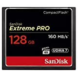 SanDisk Extreme PRO コンパクトフラッシュ 128GB 160MB/s 1067倍速 SDCFXPS-128G-X46