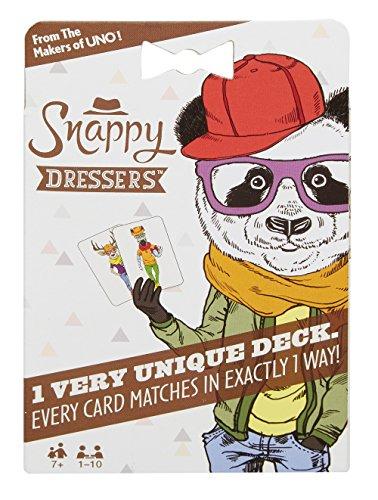 Mattel Games FDM54 Snappy Dressers Kartenspiel für Kinder, geeignet für 1 - 10 Spieler, Spieldauer ca. 15 - 20 Minuten, ab 7 Jahren