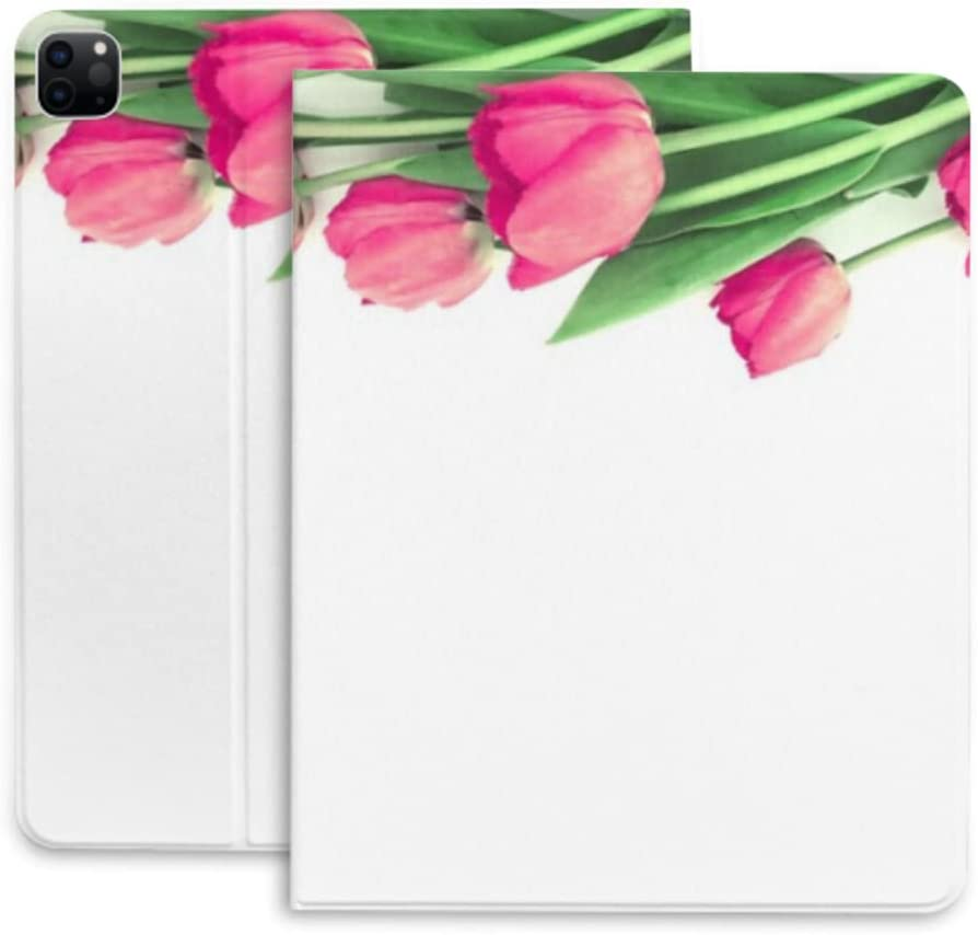 Case for Max 71% OFF Challenge the lowest price Ipad Pro 12.9 Bouquet Isolated On Tulips White Backgrou