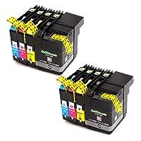 LC119/115-4PK(4色パック大容量) ×2セット ブラザー[brother]互換インクカートリッジ【インク革命製】