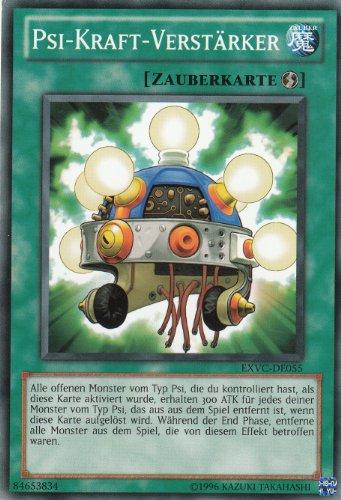 Yu-Gi-Oh! Extreme Victory EXVC-DE055 Psi-Kraft-Verstärker Einzelkarte deutsch