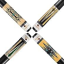 FADAZAI Set of 4 Pool Cue Sticks/House Bar Use Billiard Cue Sticks