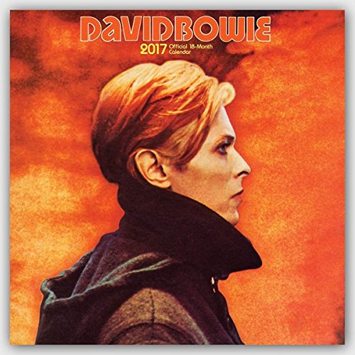 David Bowie 2017 - 18-Monatskalender: Original BrownTrout-Kalender [Mehrsprachig] [Kalender] (Wall-K