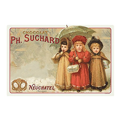 Editions Clouet 31012 - Set de Table Chocolat Suchard - Trois Enfants