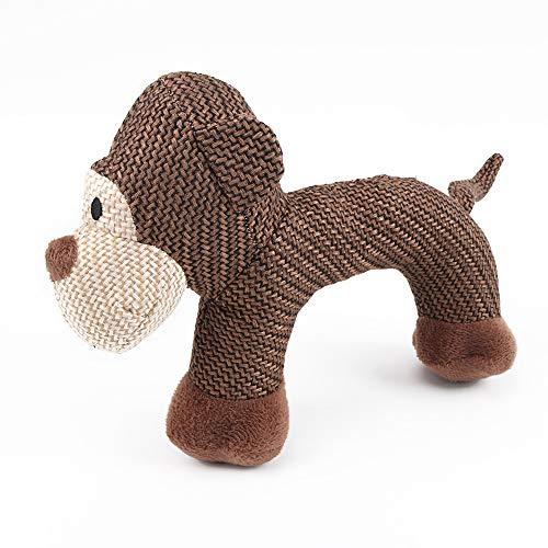 MX kingdom Pet Toy, Verschleiß- und reißfest Biss Gesangs Plüsch Hundespielzeug Plüsch Spielzeug Pet Supplies-AFFE
