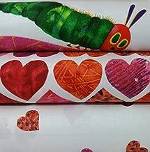 Very Hungry Caterpillar Love Small Bundle (2 Fabrics Plus 1 Panel) (Fat Quarter Bundle + One Full Panel)