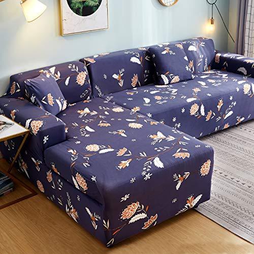 Z IMEI High Stretch Sofabezug L-Form Schnitt Sofa Couch-abdeckungen Schmutzabweisend Sessel 2-sitzer 3-sitzer Sofa Überwurf Liege-Abdeckung-h Sessel 90~140cm(35~55inch)