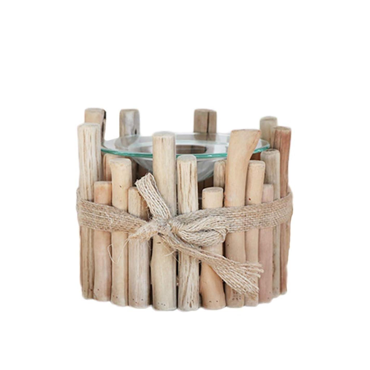 毎回樹皮離れて家庭用木材香ホルダーエッセンシャルオイルアロマ燭台香バーナー寝室アロマセラピー炉香バーナーホルダー (Color : D)