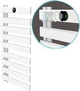 KaiKai Calentador de Toallas, eléctrica, Carril de Toalla de baño de Acero Inoxidable Calentador de Toallas de baño más Caliente del radiador 19.68 * 35.43 Pulgadas