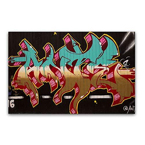 SLQUIET Rahmenlose Dekoration Wandkunst Leinwanddruck und Poster Bild für Wohnzimmer Wanddekoration Dekoration Leinwand Malerei 40X60CM Kein Rahmen