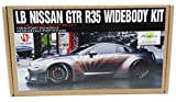 Nissan LB Performance Nissan R35 GT-R 1/18 Detail Up set Hobby Design HD03-0314 by Hobby Design