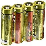 オーム OHM Vアルカリ電池単3形 4本パック LR6/S4P/V
