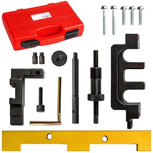 TecTake Motor Einstellwerkzeug Kfz Nockenwellen Arretierwerkzeug Werkzeug Set