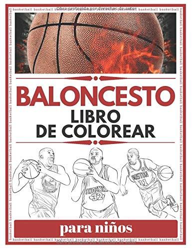 Baloncesto Libro De Colorear Para Niños