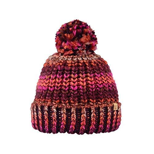 Barts Womens Jevon Chunky Knit Lined Pom Pom Winter Headband