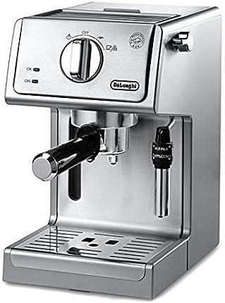 De'Longhi - Bomba para café espresso y capuchino (15.0in), acero inoxidable