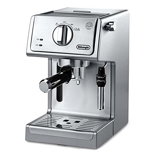 De'Longhi Bar Pump Espresso and Cappuccino Machine, 15', Stainless Steel