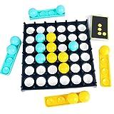 OUCRIY Bouncing Ball Game Set Kampfspiel Tischball Brettspiel Reisespiel Kinderspiel Interaktives...