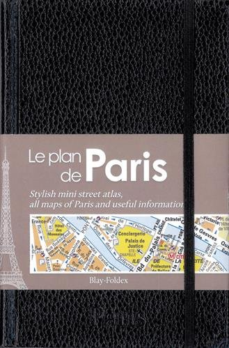 Paris : Le plan de Paris chic noir