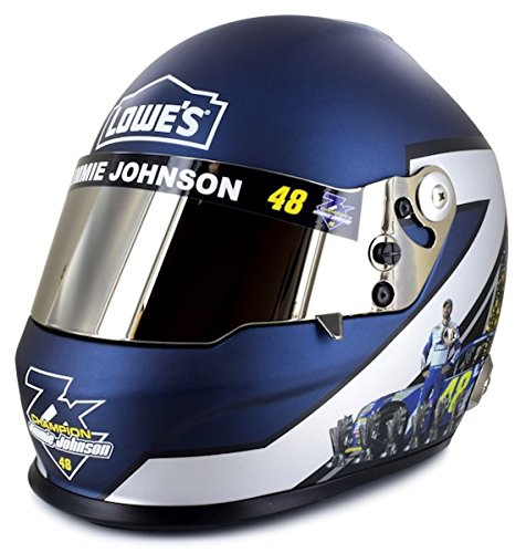 Jimmie Johnson Full Size 7-Time Champ Collectible NASCAR Commemorative Helmet