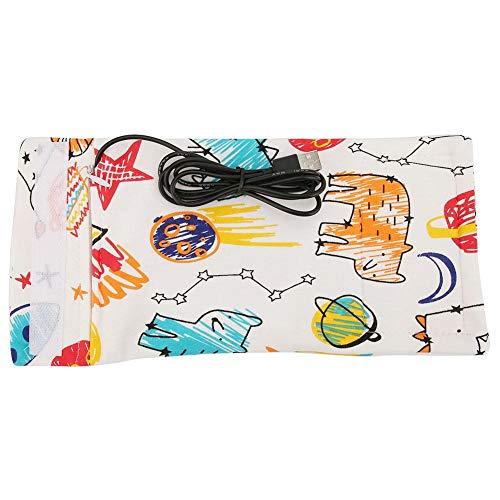 Broco Réchauffeur de biberon USB, sac de réchauffeur de biberon USB Réchauffeur de biberon à lait portatif Réchauffeur Keeper Réchauffeur de biberon USB portatif Lait Réchauffeur(Fusée)