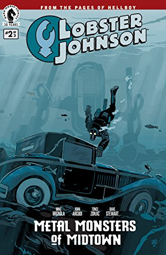 Lobster Johnson: Metal Monsters of Midtown #2 (English Edition)