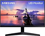 "Samsung Monitor F27T35 da 27"" (68.6 cm), Full HD, 75Hz, Freesync, Eye Saver Mode, HDMI, Dark Blue Grey, Versione 2020"