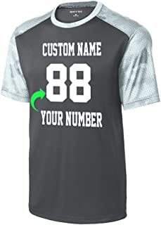 Team Jerseys Customized with Your Name and Number Youth Soccer Jersey Ladies and Adult Sports Jerseys Personalized