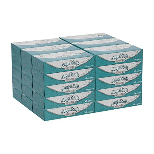 Angel Soft Professional Series Premium 2Ply Facial Tissue by GP PRO GeorgiaPacific Flat Box 48580 100 Sheets Per Box 30 Boxes Per Case