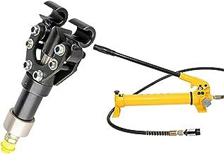 Hydraulic Rebar Bender 90 درجة انقسام CP-700. مضخة يدوية WT-18. يدوي المحمولة المحمولة 14MM إلى 18MM حديد التسليح الكهربائ...
