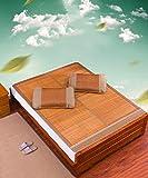 SXTYRL Matelas Pliable en Bambou pour dortoir d'été pour étudiants, dortoirs et...