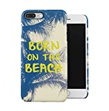 dodox born on the beach tumblr funny citation coque housse etui de protection plastique dur ligne