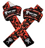 Frost Giant Fitness Weightlifting Wrist Straps Premium Fitness Deadlift Straps...