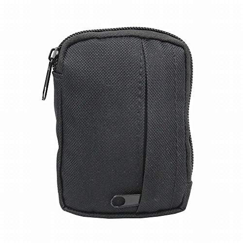 BAPDSB 600D Nylon Militar Molle Negro Bolsa Pequeña Cinturón Bolsa Bolsa Monedero Bolsa Monedero para Camping Senderismo Gadget Pack