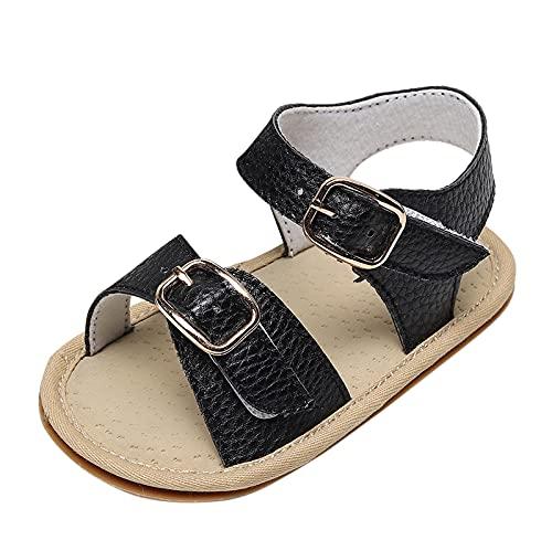 Zapatos para niños pequeños, zapatos de punto de malla, antideslizantes, transpirables, para exteriores, playa, senderismo, etc., Negro , 21