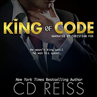 King of Code                   By:                                                                                                                                 CD Reiss                               Narrated by:                                                                                                                                 Christian Fox                      Length: 9 hrs and 43 mins     553 ratings     Overall 4.2