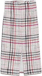 [ミラ オーウェン] スカート サマーツィードスカート 09WFS191062