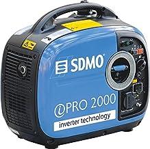 SDMO INVERTER PRO 2000 Generador Inverter, Equipado con Motor Yamaha, 2000 W