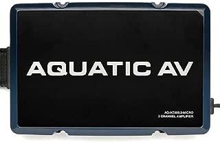 Aquatic AV Harley FLH 300 Watt 2 Channel Amp Amplifier AQ-AD300.2-Micro