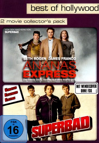 Best of Hollywood - 2 Movie Collector's Pack: Ananas Express / Superbad [2 DVDs] [Alemania]