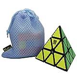 OJIN MoYu Pyraminx Suave Pyramid Velocidad Cubo mágico Tetraedro...
