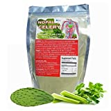 Celery & Nopal Cactus $15.99 Dried Fiber Powder Organic 100% Pure Natural Remedy For High Blood Pressure Circulatory System Problems Dietary Supplement 1/2 Lb. Bag by ALKAVITA