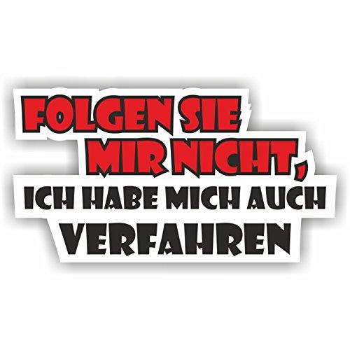 1 x Volg Mir Nicht 11 x 6 cm sticker Tuning 272 Shocker Auto JDM OEM Dub Decal Sticker Illest Dapper Oldschool Folie