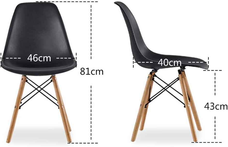 huoyijia La Mode Simple Chaise en Plastique Chaise De Salle à Manger CréAtif Personnalité Coin Repas Café Chaise Light