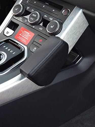 KUDA 090620 Halterung Echtleder schwarz für Range Rover Evoque ab 09/2011