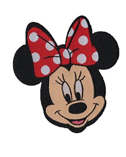 Minnie Mouse - Disney - Aufnäher/Iron On Patch/Applikation - 6,5 x 7,5 cm
