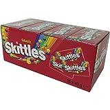 Skittles Fruits, Bonbons Fruités à Mâcher, 16 Paquets de 45 gr
